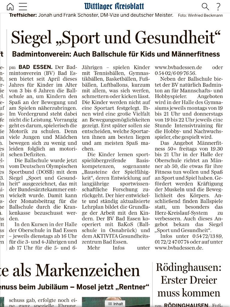 Artikel Wittlager_24_08_2016